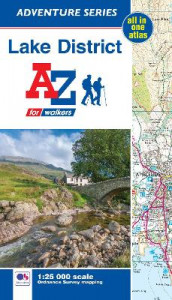 Lake District Adventure Atlas (Heftet)