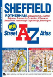 Sheffield Street Atlas (Heftet)