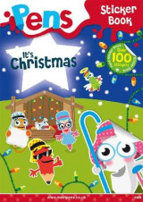 Omslag - Pens Sticker Book: It's Christmas