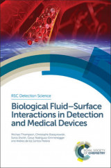 Omslag - Biological Fluid-Surface Interactions in Detection and Medical Devices