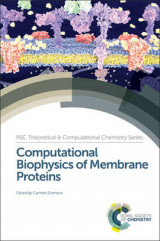 Omslag - Computational Biophysics of Membrane Proteins