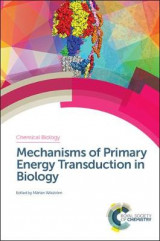 Omslag - Mechanisms of Primary Energy Transduction in Biology