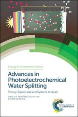 Omslag - Advances in Photoelectrochemical Water Splitting