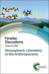Omslag - Atmospheric Chemistry in the Anthropocene