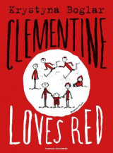 Omslag - Clementine Loves Red
