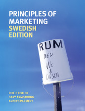 Principles of marketing av Gary Armstrong, Philip Kotler, Mikael Ottosson og Anders Parment (Heftet)