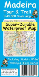 Omslag - Madeira Tour & Trail Super-Durable Map