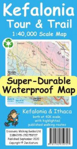 Omslag - Kefalonia Tour & Trail Map