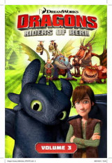 Omslag - DreamWorks' Dragons: The Ice Castle (How to Train Your Dragon TV) Volume 3