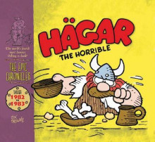 Hagar the Horrible: Dailies 1982-83: Vol. 7 av Dik Browne (Innbundet)