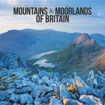 Mountains & Moorlands of Britain Wall av Carousel Calendars (Kalender)