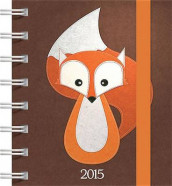 Fashion Diary Fox Square Pocket Diary av Carousel Calendars (Dagbok)