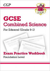 Omslag - New Grade 9-1 GCSE Combined Science: Edexcel Exam Practice Workbook - Foundation