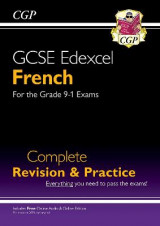 Omslag - New GCSE French Edexcel Complete Revision & Practice (with CD & Online Edition) - Grade 9-1 Course
