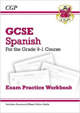 Omslag - New GCSE Spanish Exam Practice Workbook - For the Grade 9-1 Course (Includes Answers)