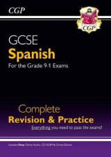 Omslag - New GCSE Spanish Complete Revision & Practice (with CD & Online Edition) - Grade 9-1 Course