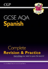 Omslag - New GCSE Spanish AQA Complete Revision & Practice (with CD & Online Edition) - Grade 9-1 Course