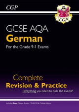 Omslag - New GCSE German AQA Complete Revision & Practice (with CD & Online Edition) - Grade 9-1 Course
