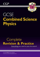 Omslag - New Grade 9-1 GCSE Combined Science: Physics Complete Revision & Practice with Online Edition
