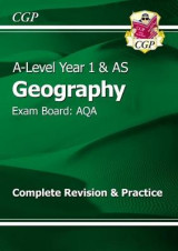 Omslag - New A-Level Geography: AQA Year 1 & AS Complete Revision & Practice