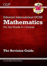 Omslag - New Edexcel International GCSE Maths Revision Guide - For the Grade 9-1 Course