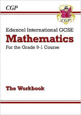 Omslag - New Edexcel International GCSE Maths Workbook - For the Grade 9-1 Course