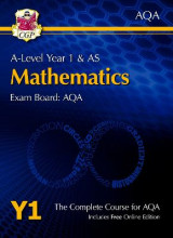 Omslag - New A-Level Maths for AQA: Year 1 & AS Student Book with Online Edition