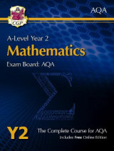 Omslag - New A-Level Maths for AQA: Year 2 Student Book with Online Edition