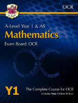 Omslag - New A-Level Maths for OCR: Year 1 & AS Student Book