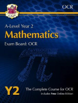 Omslag - New A-Level Maths for OCR: Year 2 Student Book with Online Edition