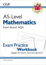 Omslag - New A-Level Maths for AQA: Year 1 & AS Exam Practice Workbook