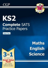 Omslag - KS2 Complete Sats Practice Papers: Science, Maths & English (Updated for the 2017 Tests) - Pack 2