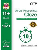 Omslag - 10-Minute Tests for 11+ Verbal Reasoning: Cloze Ages 10-11 - CEM Test: Book 2