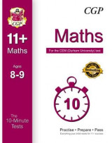Omslag - 10-Minute Tests for 11+ Maths Ages 8-9 - CEM Test