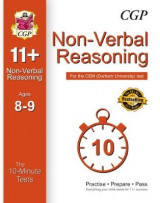 Omslag - 10-Minute Tests for 11+ Non-Verbal Reasoning Ages 8-9 - CEM Test