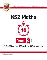 Omslag - New KS2 Maths 10-Minute Weekly Workouts - Year 3 (for the New Curriculum)