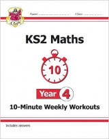 Omslag - New KS2 Maths 10-Minute Weekly Workouts - Year 4 (for the New Curriculum)