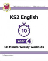 Omslag - New KS2 English 10-Minute Weekly Workouts - Year 4 (for the New Curriculum)