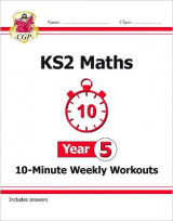 Omslag - New KS2 Maths 10-Minute Weekly Workouts - Year 5 (for the New Curriculum)