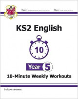 Omslag - New KS2 English 10-Minute Weekly Workouts - Year 5 (for the New Curriculum)