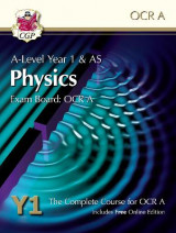 Omslag - New A-Level Physics for OCR A: Year 1 & AS Student Book with Online Edition
