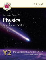 Omslag - New A-Level Physics for OCR A: Year 2 Student Book with Online Edition