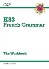 Omslag - New KS3 French Grammar Workbook (Includes Answers)