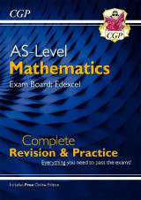 Omslag - New A-Level Maths for Edexcel: Year 1 & AS Complete Revision & Practice with Online Edition