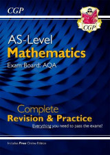 Omslag - New A-Level Maths for AQA: Year 1 & AS Complete Revision & Practice with Online Edition