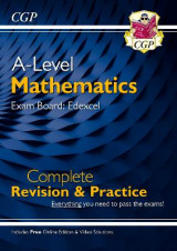 Omslag - New A-Level Maths for Edexcel: Year 1 & 2 Complete Revision & Practice with Online Edition
