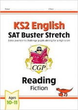 Omslag - New KS2 English Reading SAT Buster Stretch: Fiction (for tests in 2018 and beyond)