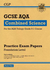 Omslag - New Grade 9-1 GCSE Combined Science AQA Practice Papers: Foundation Pack 2