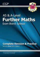 Omslag - New AS & A-Level Further Maths for Edexcel: Complete Revision & Practice with Online Edition
