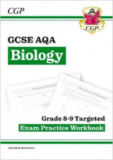 Omslag - New GCSE Biology AQA Grade 8-9 Targeted Exam Practice Workbook (includes Answers)